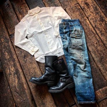 HAVESACK / ラウンドカラーレノクロスシャツ