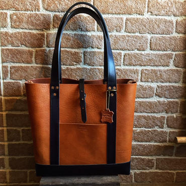 LEFT HAND TOTE BAG HARVEST別注 / CAMEL × BLACK