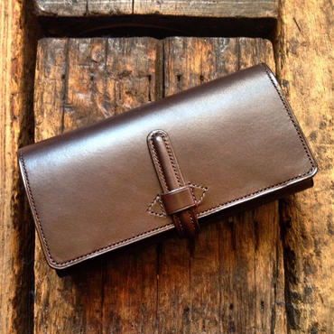 CALIFORNIA HARVEST / LONG WALLET (DARKBROWN)