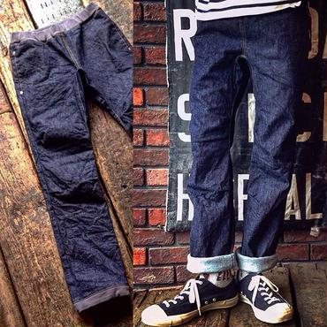 STUDIO ORIBE / RIB PANTS (DENIM)