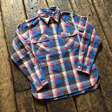 FULLCOUNT / 25th Original Gabardine Check Nel Shirts【25TH ANNIVERSARY ITEM】