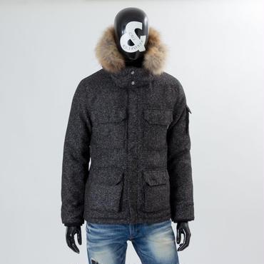 【シンサレートで薄いのに暖かい】高機能中綿ツイードマウンテンジャケット/CALL&RESPONSE 162-1103-16