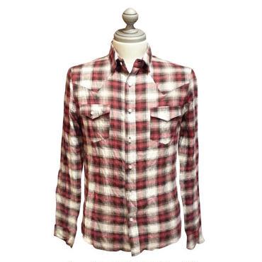 チェックシャツ  152-1211-03