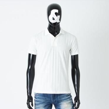 ストライプポロシャツ 161-1324-30