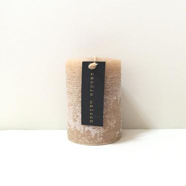matte candle Hazelnut
