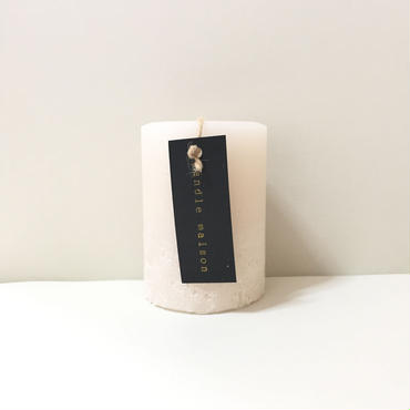 matte candle Milk