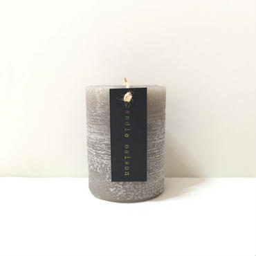 matte candle Greige