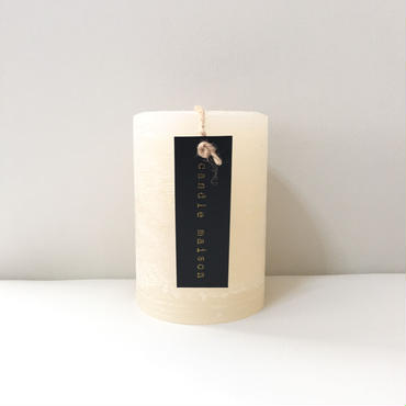 matte candle  Cream