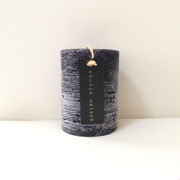 matte candle  Cassis