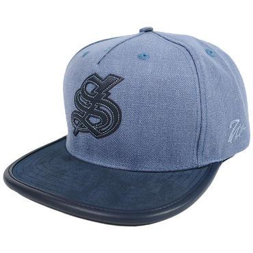 7UN344 7UNION SUEDE 7's THUNDER STRAPBACK CAP IFXY-106 BLUE セブン ユニオンスウェード 7サンダー ストラップバックキャップ ブルー