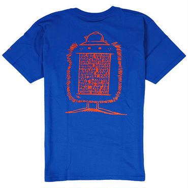 HUF607 HUF ハフ ケビンライオンズ ニューヨーク Tシャツ ブラック KEVIN LYONS NY TEE ROYAL
