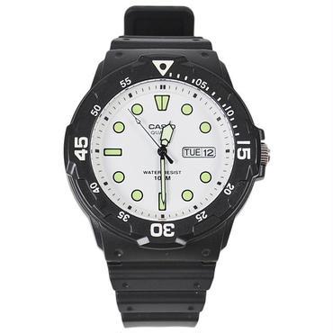 CAS02 CASIO MRW-200H-7EV BLACK/WHITE カシオ MRW-200H-7EV ウォッチ ブラック/ホワイト 時計