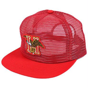 HUF539 HUF DOMESTIC FULL MESH CAP RED ハフ フルメッシュ スナップバックキャップ レッド