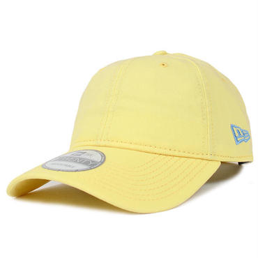 92C67 NEWERA ニューエラ ベーシック 無地コットン 920 ローキャップ イエロー COTTON BASIC NO LOGO 9TWENTY CAP YELLOW 11332561