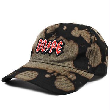 DOPE ドープ ハイウェイ ブリーチ スナップバックキャップ ブラック HIGHWAY BLEACHED SNAPBACK CAP BLACK DOPE169