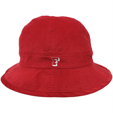 "FRK250 FRANK フランク シティー ボール ハット レッド CITYBALL HAT ""CORDUROY"" RED"