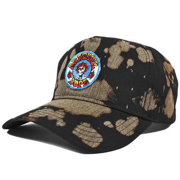 DOPE ドープ ジョーンズ ブリーチ スナップバックキャップ ブラック JONES BLEACHED SNAPBACK CAP BLACK DOPE165