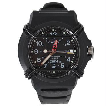 CAS07 CASIO HDA-600-1BV BLACK/BLACK カシオ HDA-600-1BV ウォッチ ブラック/ブラック 時計