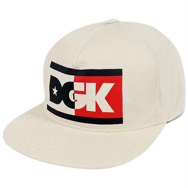 DGK138 DGK ディージーケー アンセム スナップバックキャップ オフホワイト