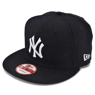 SNAP113 NEWERA ニューエラ スナップバック ヤンキース ネイビー/ホワイト 9FIFTY SNAPBACK YANKEES(MLB) NAVY/WHITE N0015574