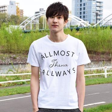 Tシャツ メンズ Vネック Uネック クルーネック カリフォルニア / ロゴプリントTシャツ SLOWGAN / スローガン