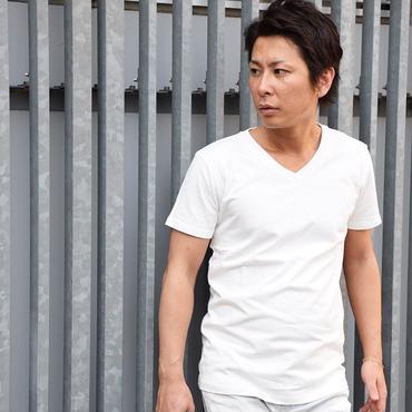 Tシャツ 長袖 半袖 Vネック クルーネック 無地 無地Tシャツ / Vネック無地Tシャツ SLOWGAN / スローガン