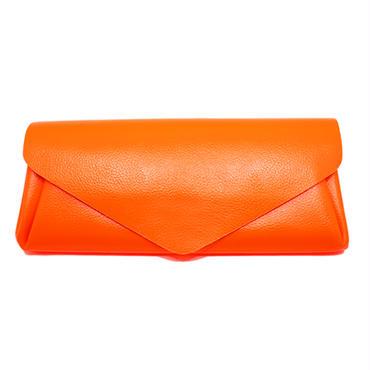 ビビッドレザー ウォレット オレンジ【Vivid Long Wallet Orange】