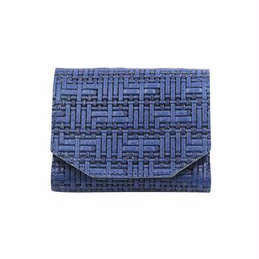 メッシュウォレットミニ ブルー【Mesh Wallet Mini Blue】