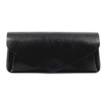 レザー ロングウォレット ブラック【Leather Long Wallet Black】