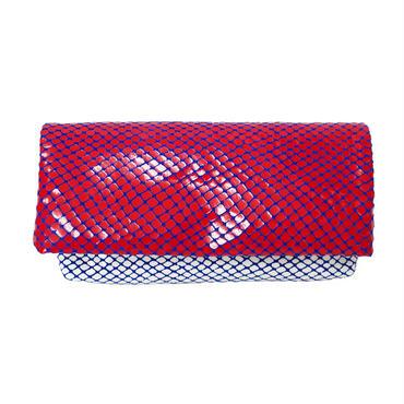 スムースウォレット【Smooth Wallet Clear Red 】クリア レッド