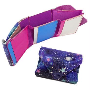 コンパクトウォレットスターリー 【Compact Wallet Super Starry, Fantasy Starry】