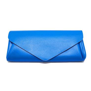 ビビッドレザー ウォレット ブルー【Vivid Long Wallet Blue】