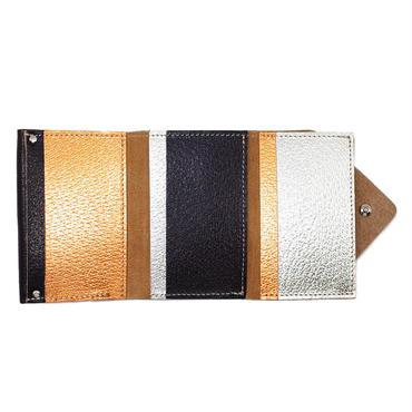 コンパクトウォレットブラック 【Compact Wallet BLACK 】