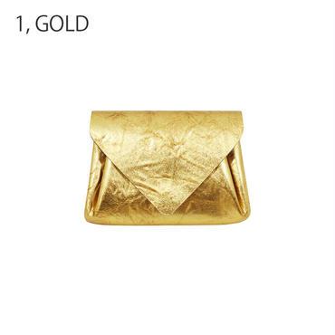 レザーミニウォレットメタル【Leather Mini Wallet Metal】