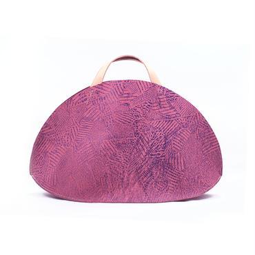 フラットバッグ ツギハギピンク&パープル【Flat Bag (Patchy)】
