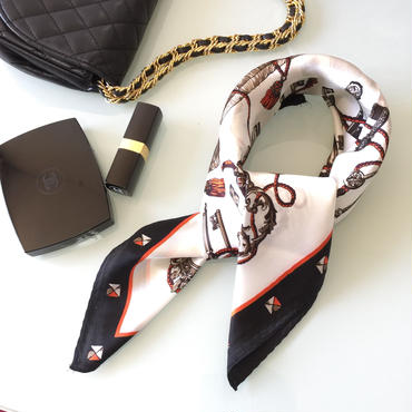 ✱︎ スカーフ B/W✱︎