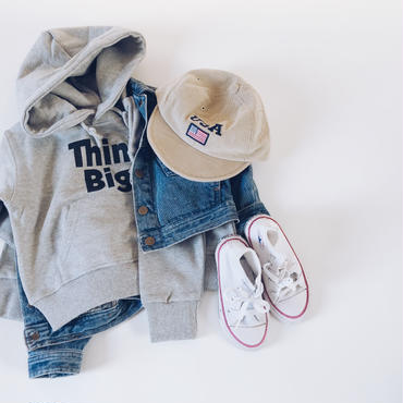 "kids★""ThinkBig!"" foodie sweat"