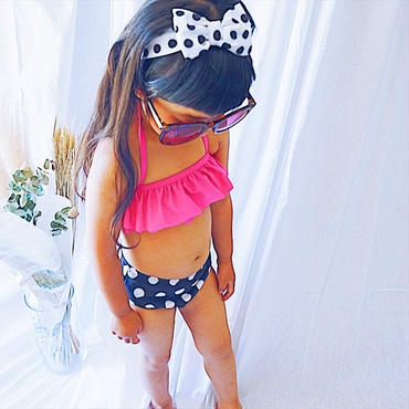 kids★dot 3set Bikini