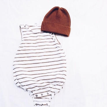 Baby★border short rompers