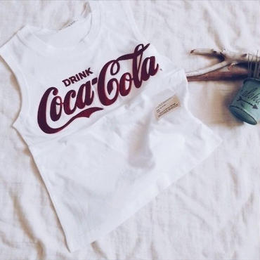 kids★Cocacola tank tops(デザイン変更)