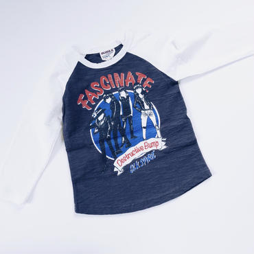 kids★Rock raglan T-shirt