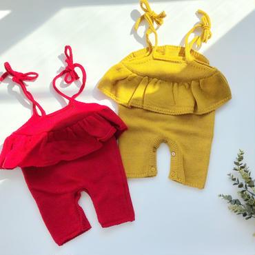 baby★Peprum knit rompers