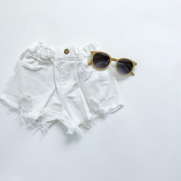 kids★Hight damage short pants