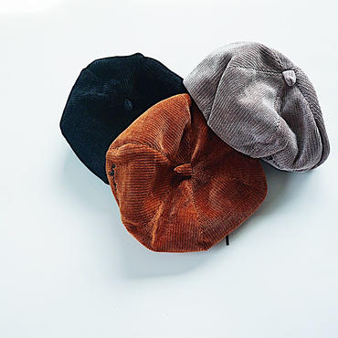 kids★corduroy béret 帽