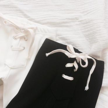kids★lace up leggings lib pants