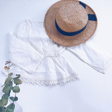 kids★race peprum blouse