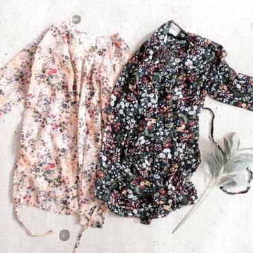 kids★小花柄 vintage gown