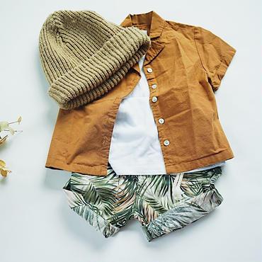 kids★botanical short pants