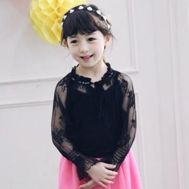 kids★see-through lace tops