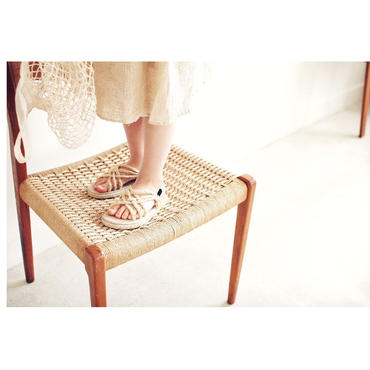 kids★mesh Espadrille sandal